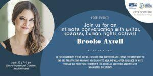 A Conversation with Brooke Axtell @ Amarillo Botanical Gardens   Amarillo   Texas   United States