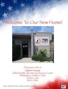 Veterans Resource Center Open House @ Veteran Resource Center
